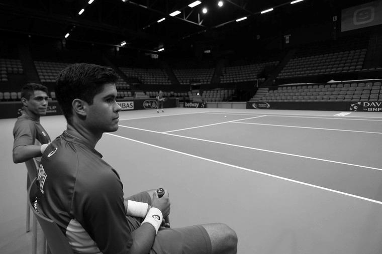 Marcelo Zormann na Copa Davis de 2016